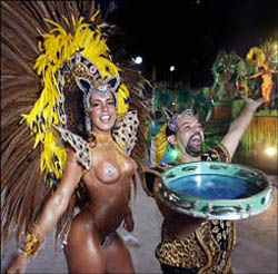 Rio Carnival 2017 - Passista Carnival