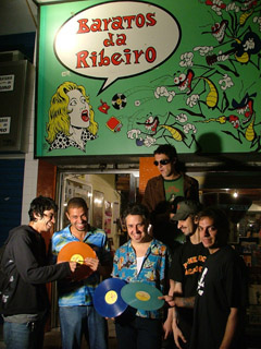Buying music in Rio - The vinyl shop Baratas da Ribeiro