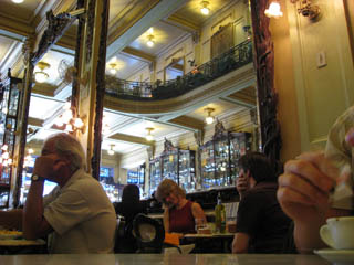 Cafés in Rio - Confeitaria Colombo