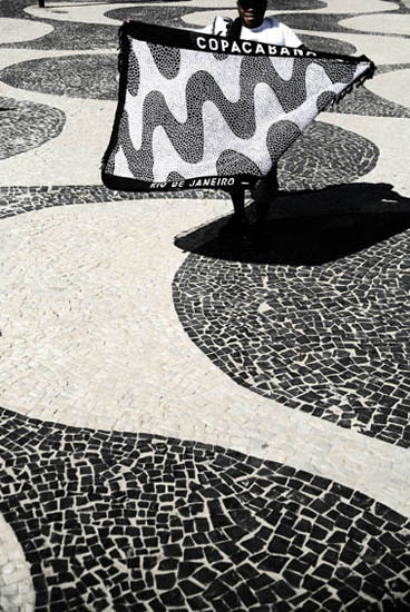 Copacabana baech photos - Pattern sidewalk