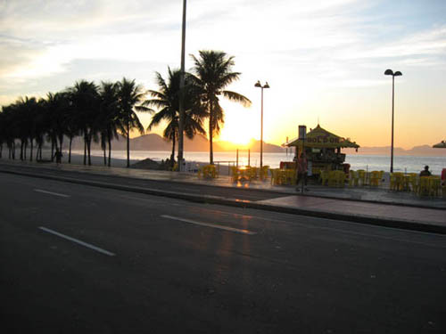 Copacabana Beach Photos - Early morning
