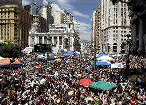 carnival party in rio