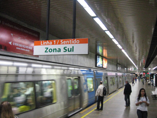 Subway in Rio