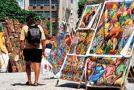Feira Hippie de Ipanema (Hippie Fair) @ Praça General Osório