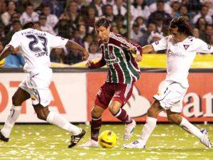 Fluminense vs LDU @ Maracanã