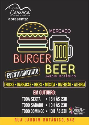 Mercado Burguer & Beer - LAGOA @ Barracas Bikes