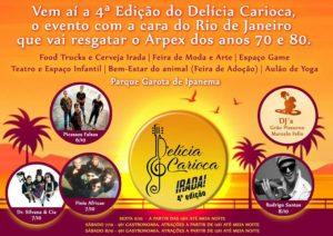 Delicia Carioca - Gastronomy Festival @ Parque Garota de Ipanema