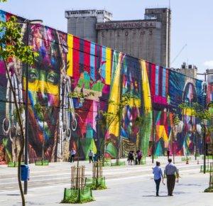 go to see street art in Rio de Janeiro