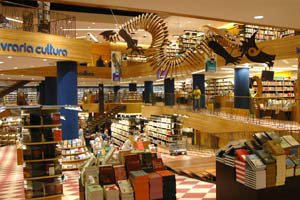 livraria cultura bookstore in rio de janeiro