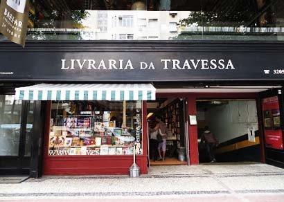 livraria travessa bookstore in rio de janeiro