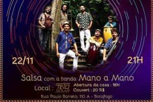 Mano a Mano - Salsa Night @ Teto Solar | Rio de Janeiro | Brazil