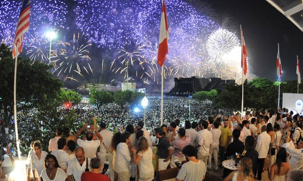 parties new year's eve in rio de janeiro