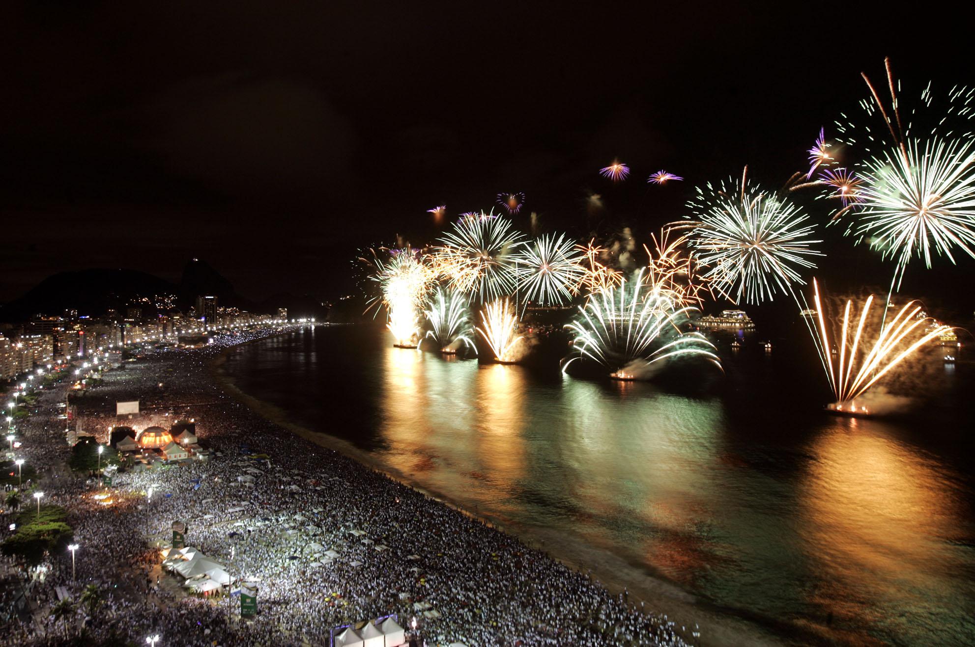 New Year's Eve in Rio de Janeiro