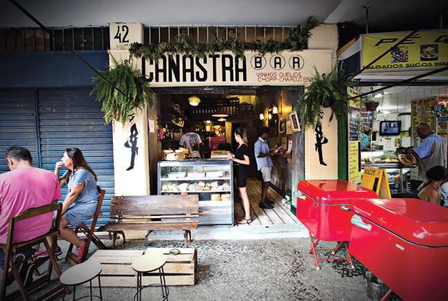 Top 5 bars in Ipanema