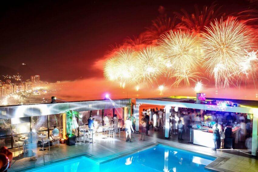 new year's eve in Rio de Janeiro 2020