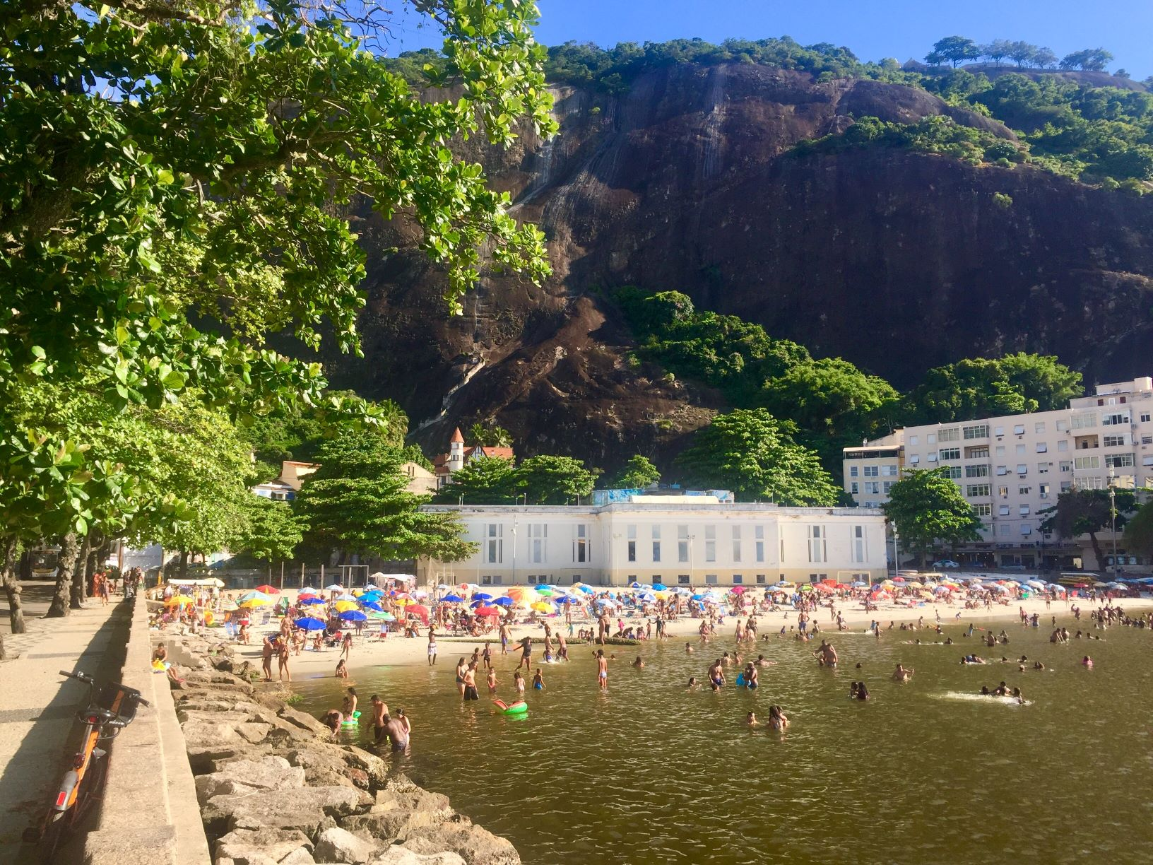 Beach in Urca