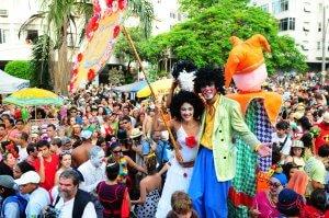 Carnival in Copacabana