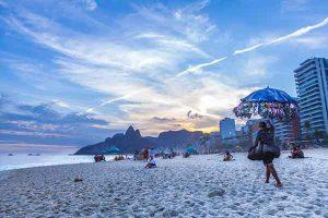 street vendors in Rio de Janeiro