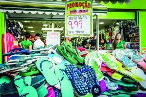 shopping for havaianas in Rio de Janeiro