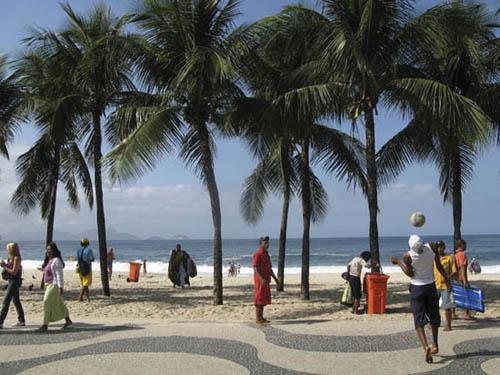 Copacabana beach photos