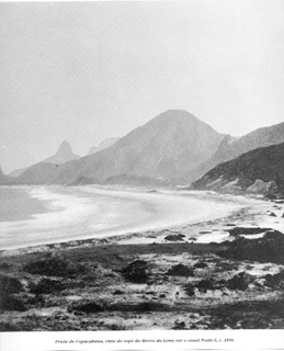 Copacabana beach 1890