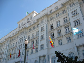 Copacabana Palace, exclusive accommodation in Rio