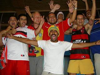 Maracanã fans