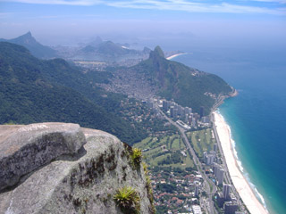 Hiking in Rio - Pedra da Gávea