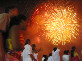New Years in Copacabana Fireworks