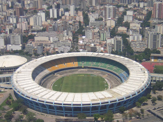 Pictures of Rio de Janeiro - Maracanã from above