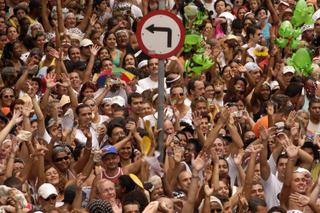 Carnival street parties in Rio de Janeiro