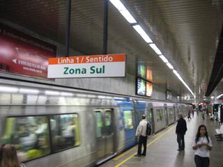 Subway in Rio