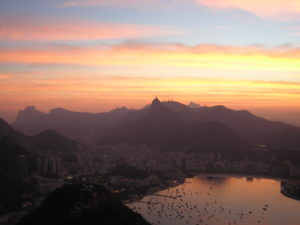 Rio Attractions - Sunset Sugarloaf