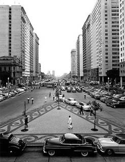 Avenida Presidente Vargas 1950's