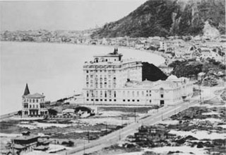 Copacabana Palace old image