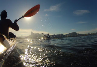 Kayaking in Rio