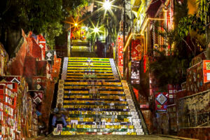 Highlights in Rio - Selaron Stairs