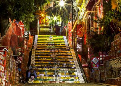 Stairs of Selarón rio de janeiro