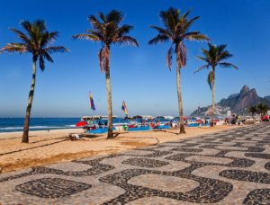 Ipanema beach in Rio