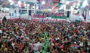 samba carnival in rio de janeiro