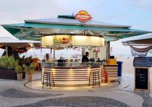 beach bar in rio de janeiro brazil