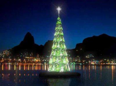 christmass tree rio de janeiro lagoa lagoon