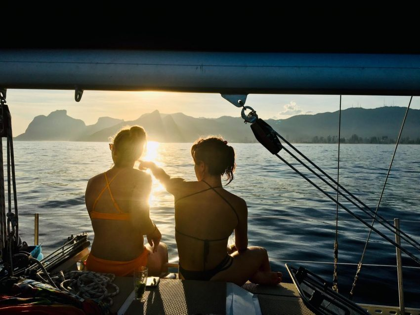 Sailing in Rio - the best way to enjoy the sunset